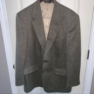Brooks Brothers 346 Tweed Suit Jacket 43R
